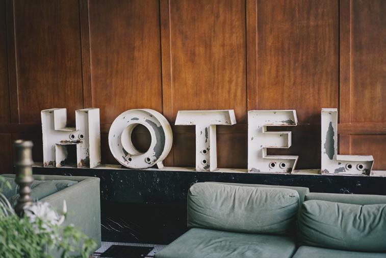 Hotel Überschrift