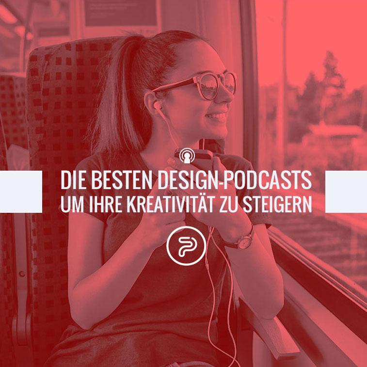Die besten Design-Podcasts um Ihre Kreativität zu steigern