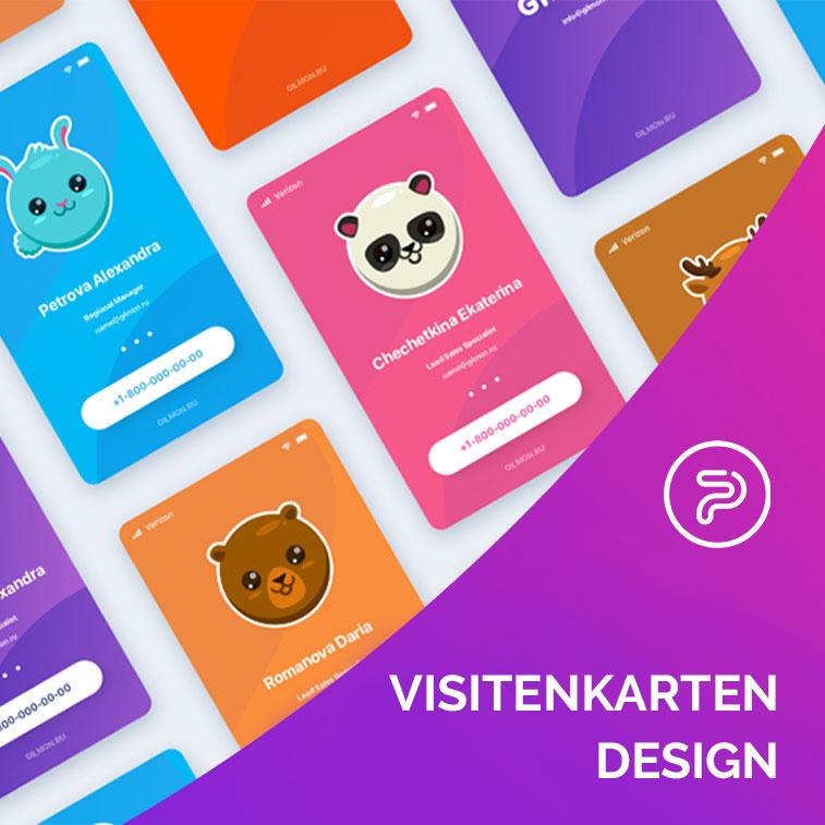Die neuesten Trends in Visitenkarten- Design