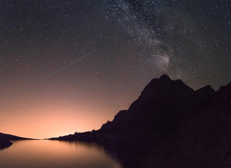 Stars im Himmel