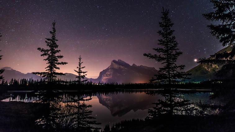 Der Nacht am See