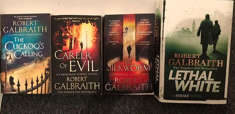 Robert Galbraith Bücher