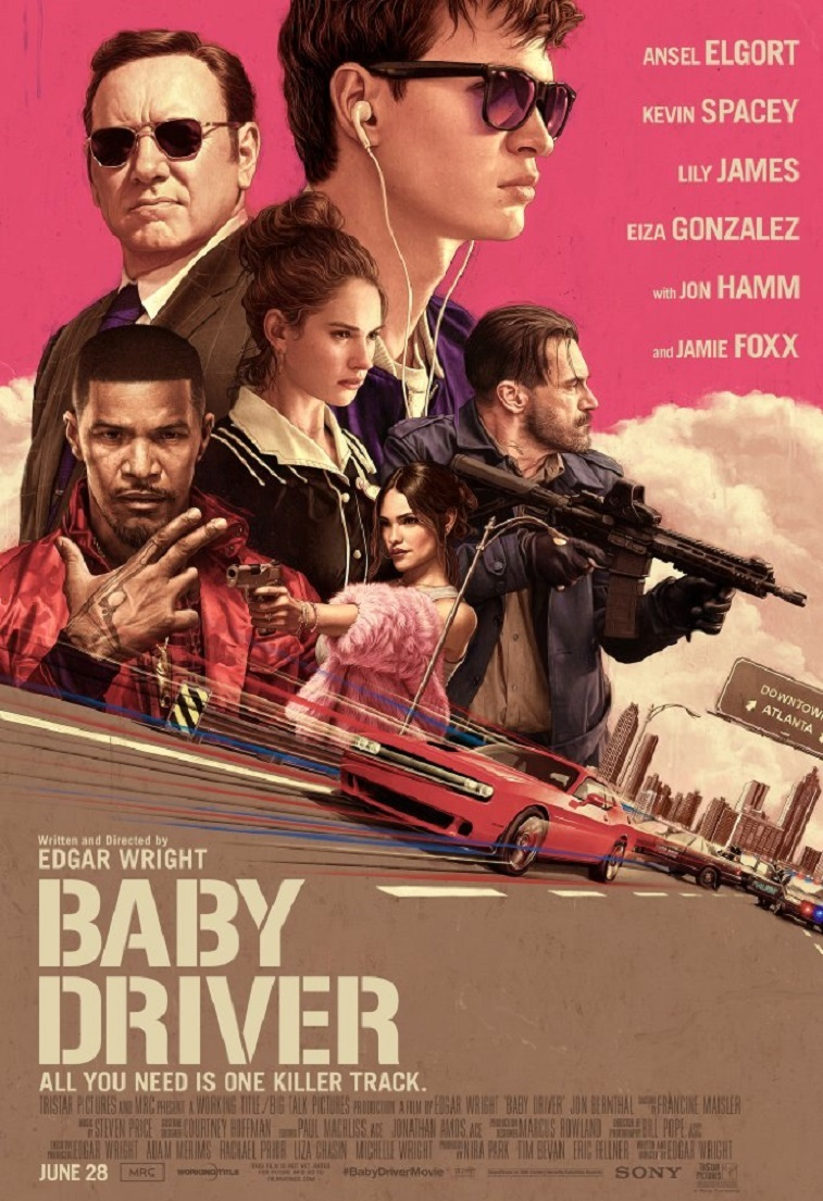 Baby driver Filmposter