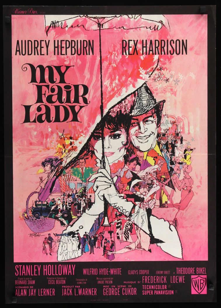 My fair Lady Filmplakat