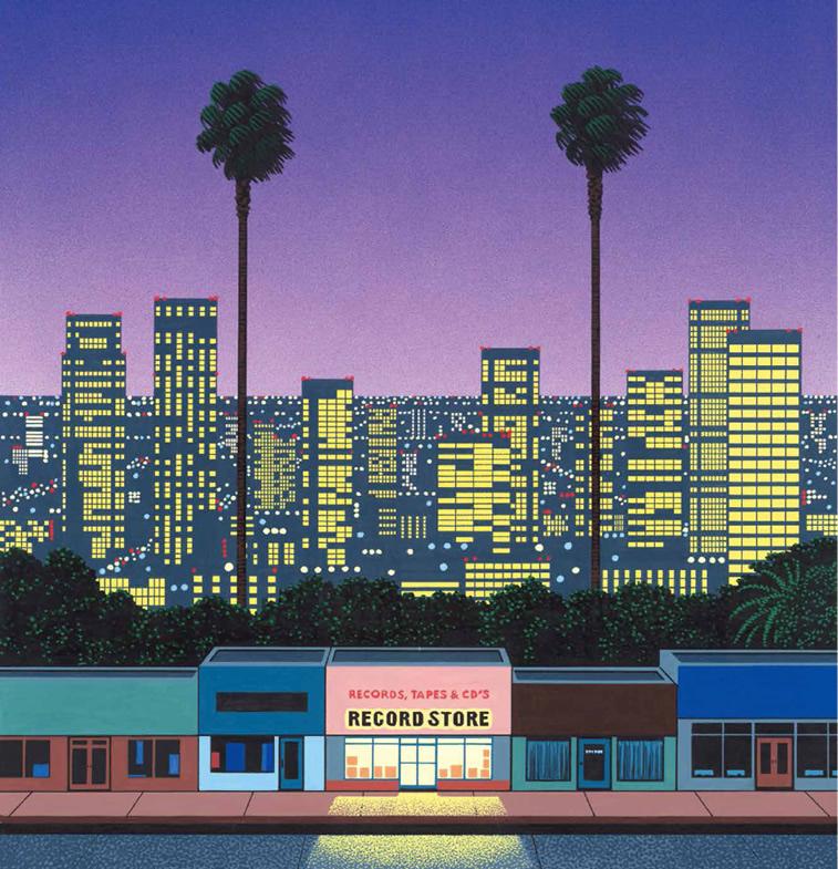 Record Store Kalifornien