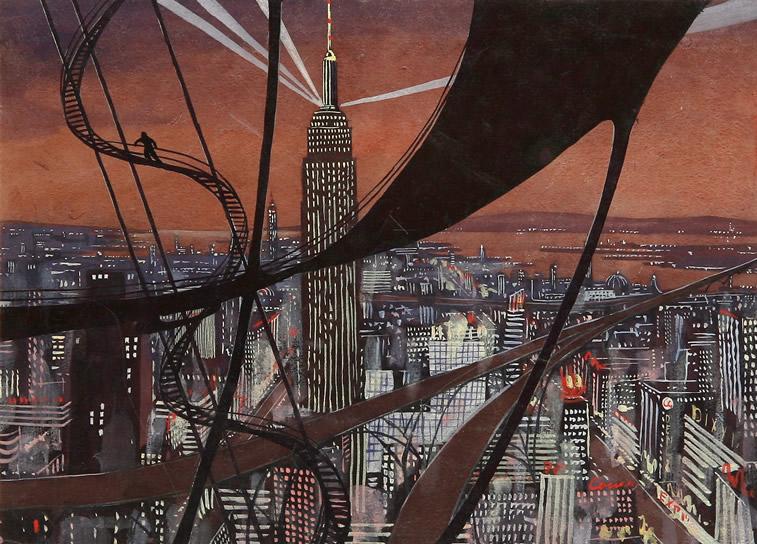 Illustration von der Stadt von Sokolov