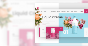 Hervorragende Beispiele für Website Redesign Konzept