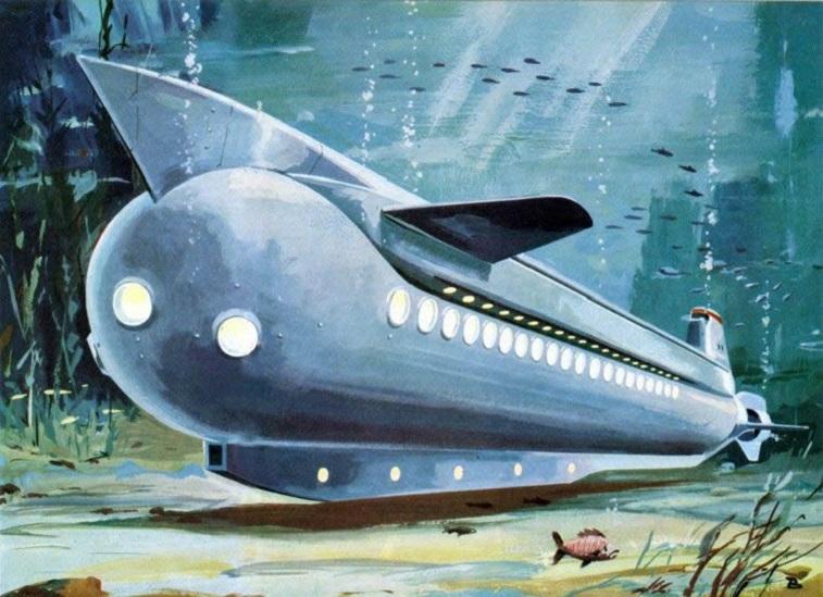 Unterseeboot von Klaus Bütgle