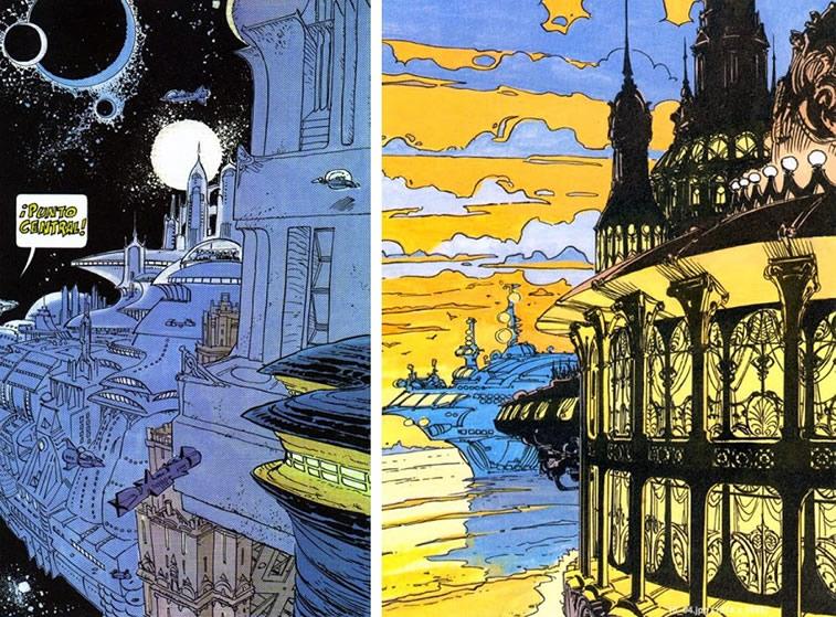 Comics von Mezieres