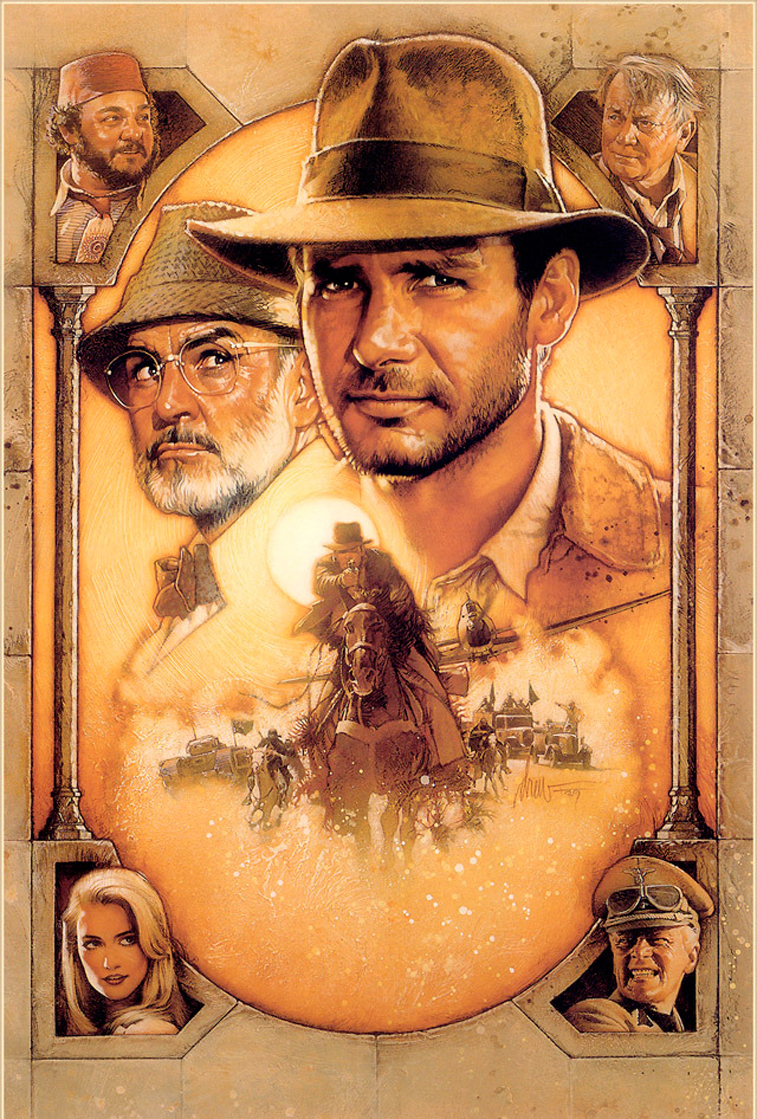 Sean Connery in indiana Jones