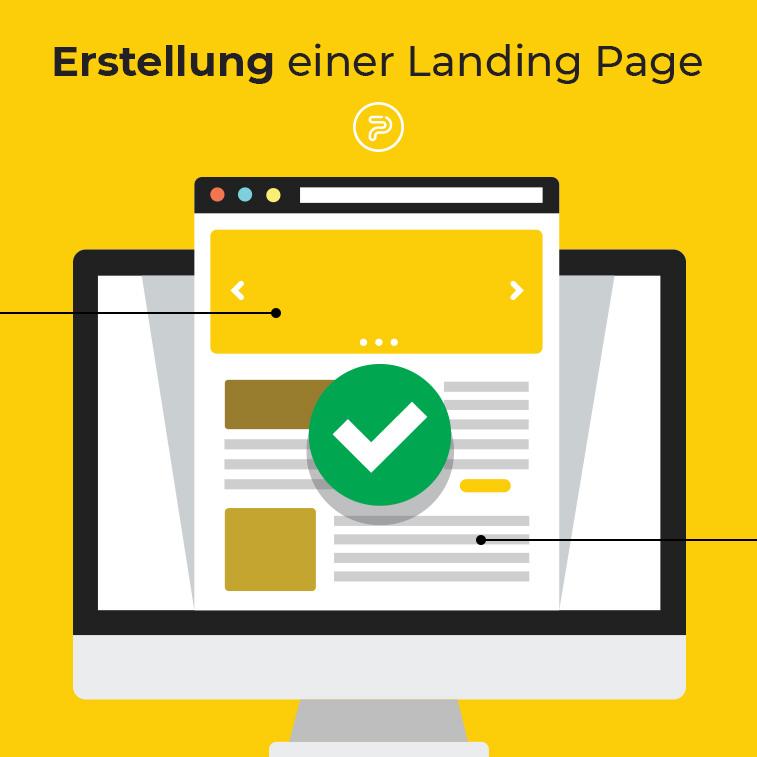 Wie erstellt man eine wirkungsvolle Landing-Page?