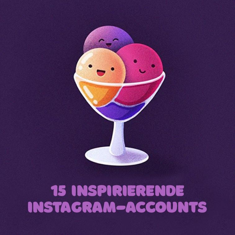 15 inspirierende Instagram-Accounts, denen jeder Designer folgen sollte