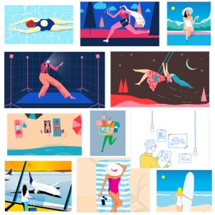 8 großartige Ressourcen für kostenlose vektorische Illustrationen