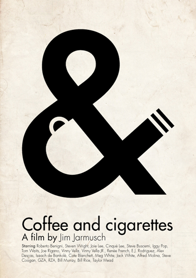 Coffe and cigarettes film poster