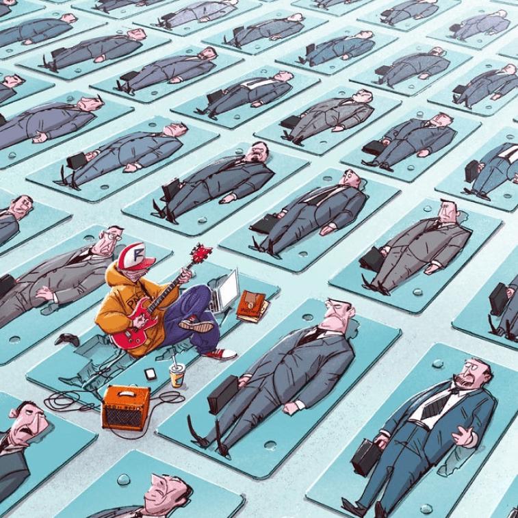 Dziekan Illustration