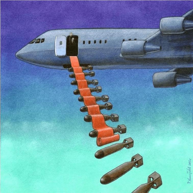 Illustrierte Bomben