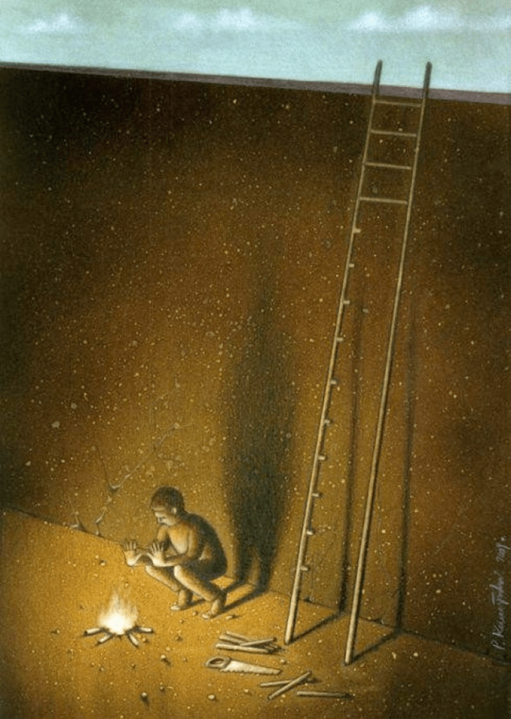 Illustrierte Leiter
