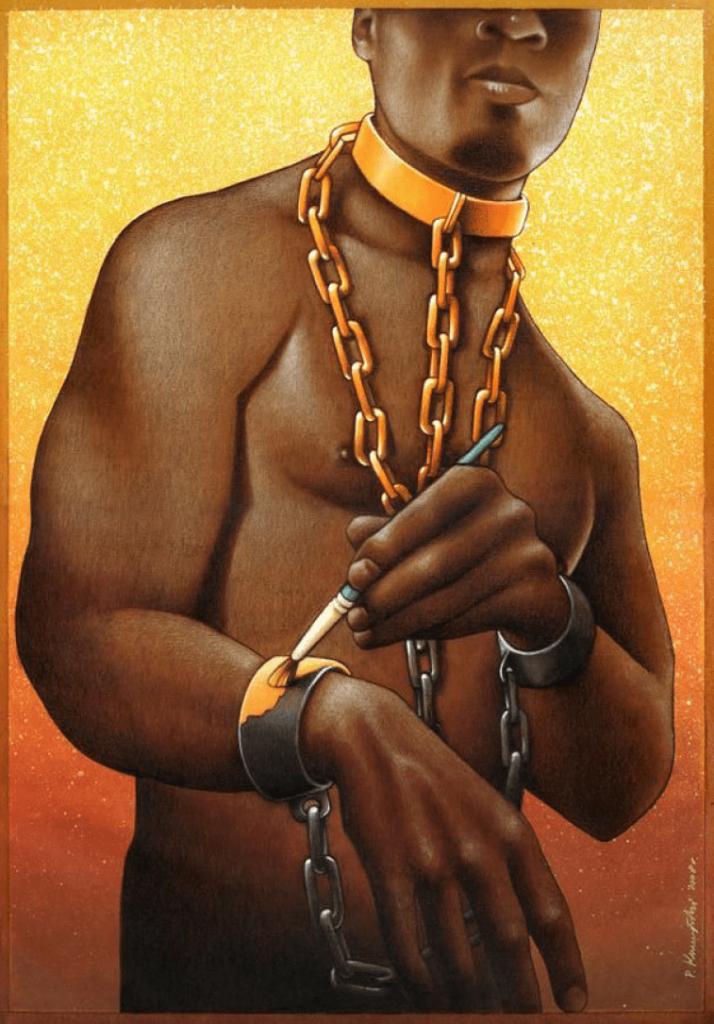 Sklave illustriert
