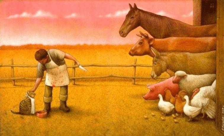 Tiere illustriert von Pawel