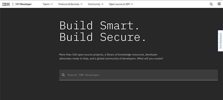 IBM web development magazine