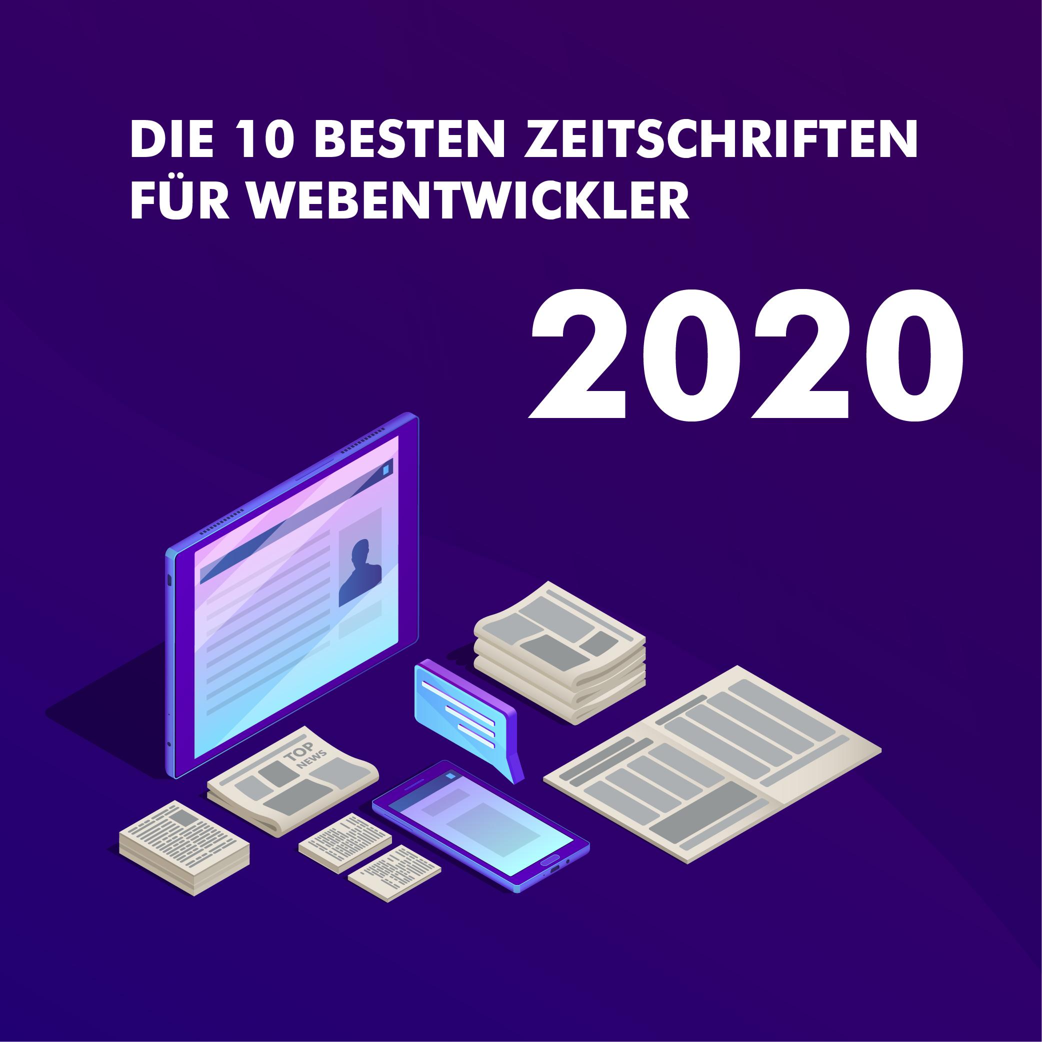 42867Die 10 besten inspirativen Magazine für Webentwicklung in 2020