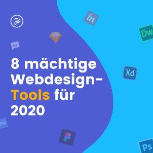 8 mächtige Webdesign-Tools für 2020
