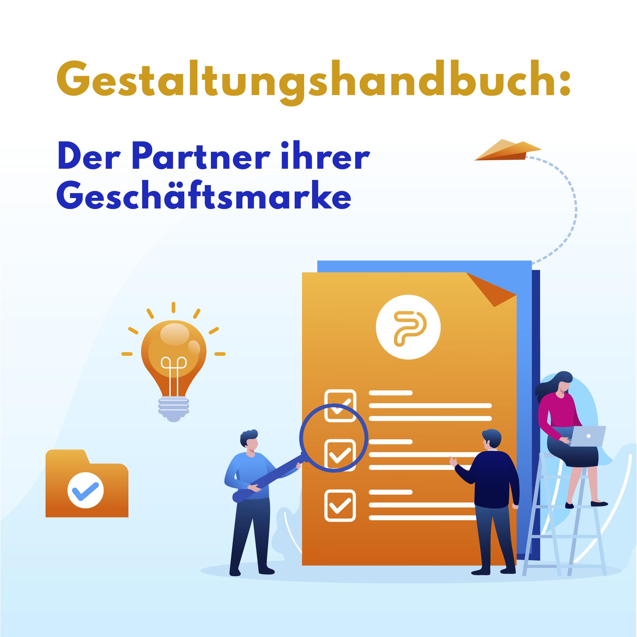 Grafik-Standards-Handbuch: der Partner Ihrer Geschäftsmarke