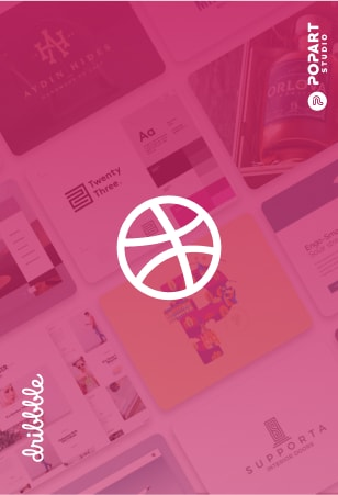 Dribbble profile PopArt Studio