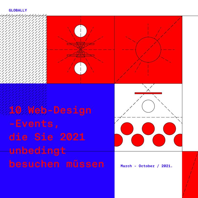 10 Web-Design-Events, die Sie 2021 unbedingt besuchen müssen