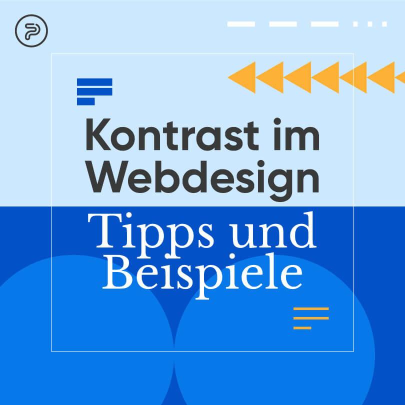 Kontrast im Webdesign: Tipps und Beispiele